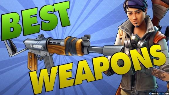Best Fortnite Weapons