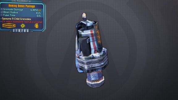 BLTPS Legendary Grenade Mod - Bonus Package
