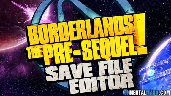 Borderlands the Pre-Sequel Save File Editor by Gibbed
