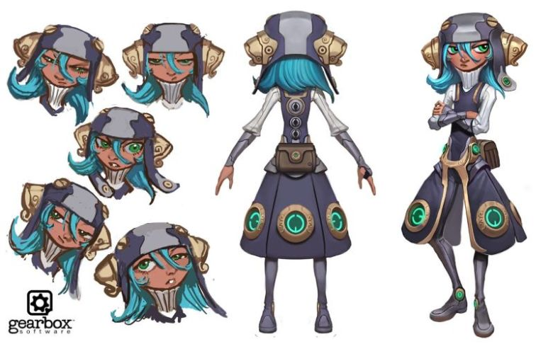 LLC Girl Concept Art - Annabelle ?