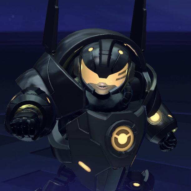 """Kid Ultra 's """"Kid Shadow"""" Skin - Battleborn"""
