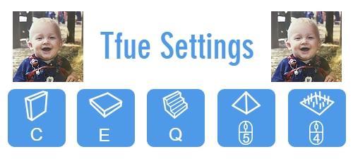 Tfue's Fortnite Control Settings