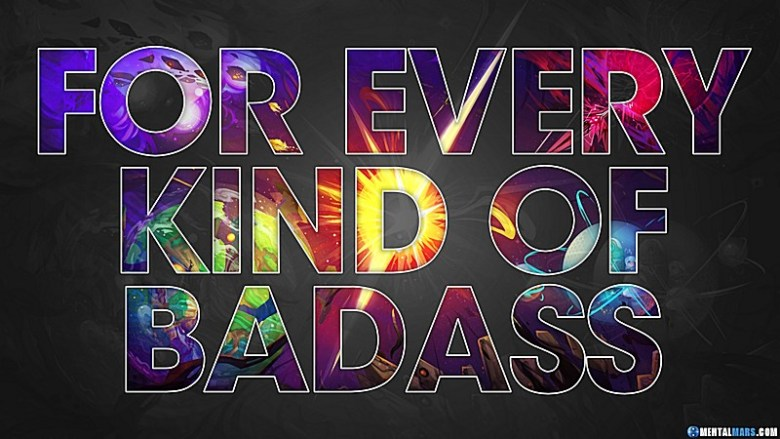 Battleborn Wallpaper - For Every Kind of Badass (Dark Edition) Preview