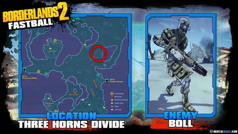 Borderlands 2 Legendary Fastball Location Guide