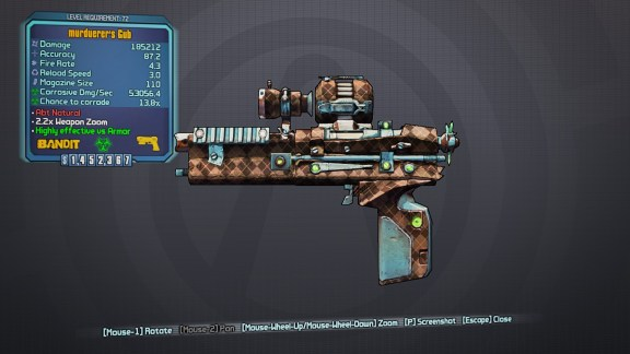 Legendary Gub - Borderlands 2