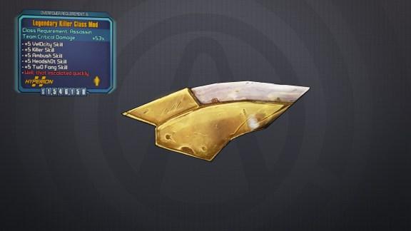 Legendary Killer Class Mod - Borderlands 2