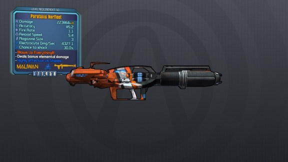 Legendary Norfleet - Borderlands 2