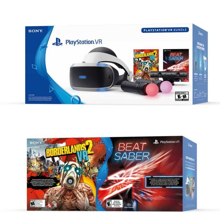 PSVR BL2VR Bundle