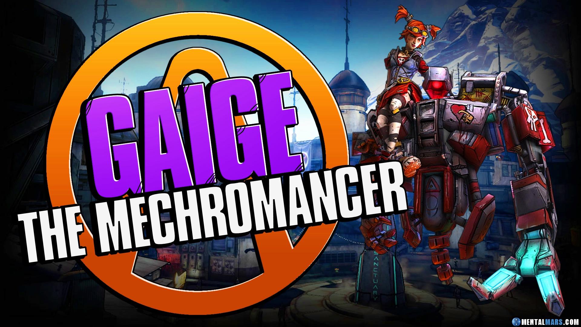 Gaige - the Mechromancer » Borderlands 2 Characters » MentalMars