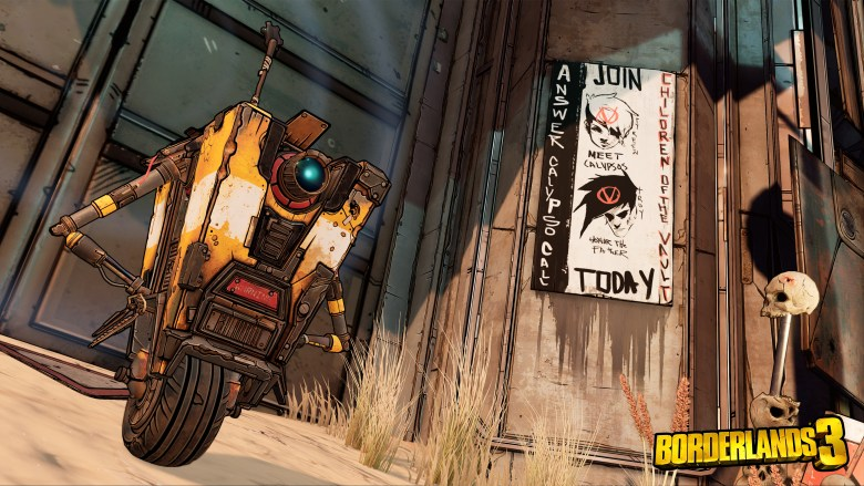 BL3 Launch Screenshots Claptrap