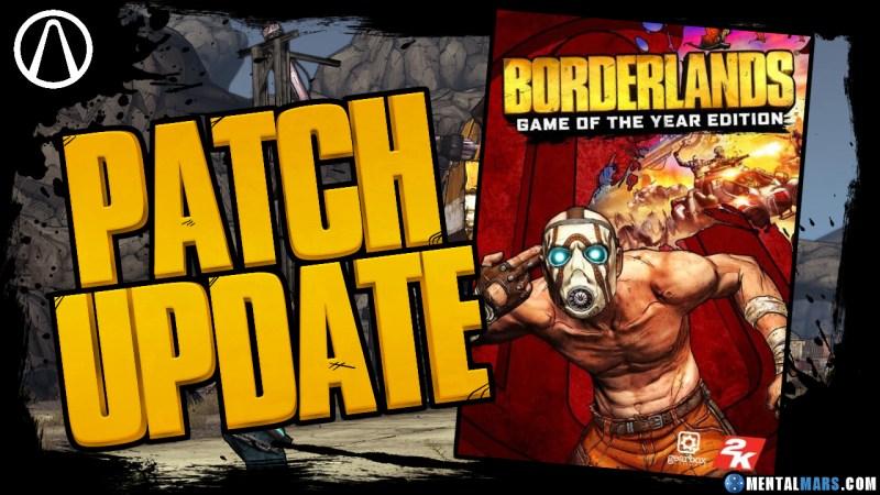 Borderlands 1 Patch Update