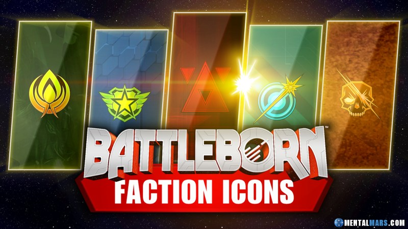 Battleborn Faction Icons