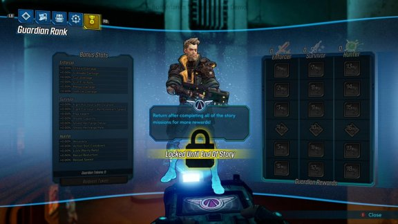 Borderlands 3 Guardian Rank