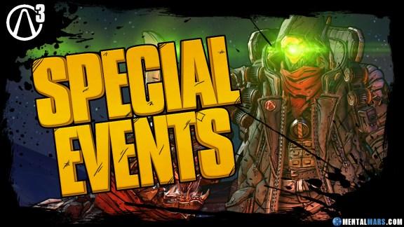 Borderlands 3 Special Events