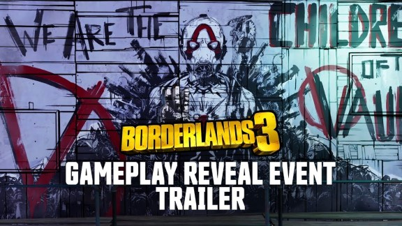 Borderlands 3 reveal event trailer