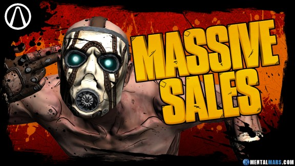 Massive Sales for Borderlands Franchise