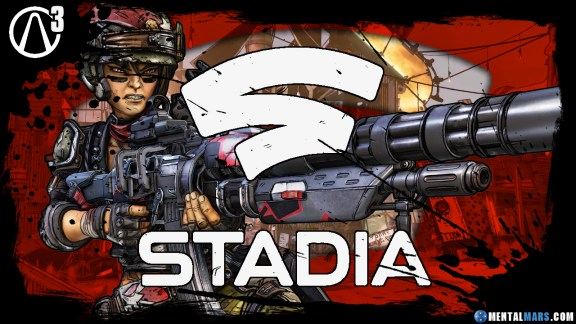 Borderlands 3 Available on Stadia