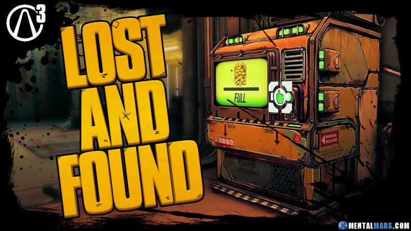 Lost and Found Machine - Borderlands 3