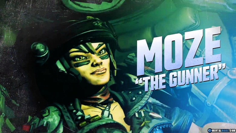 Moze the Gunner - Borderlands 3 Character Profile
