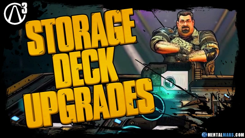 Purchase Storage Deck Upgrades from Marcus in Borderlands 3