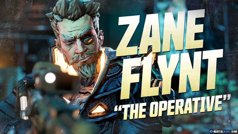 Zane the Operative - Borderlands 3 Character Profile