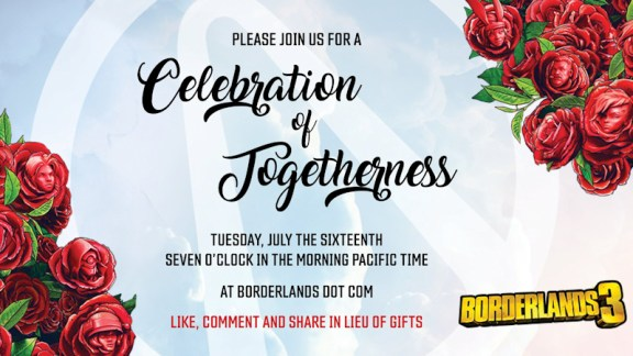 Celebration of Togetherness - Borderlands 3