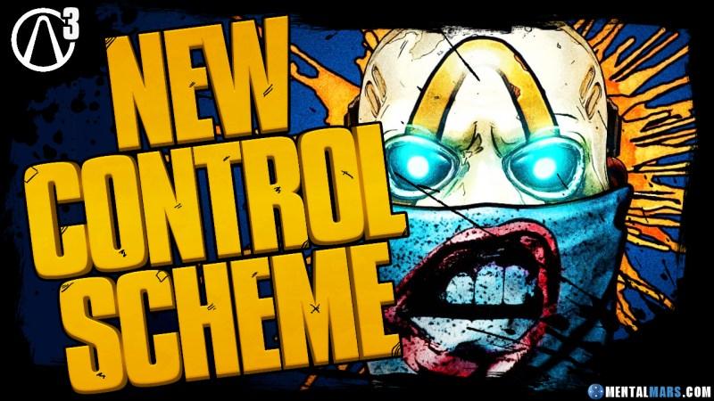 New Control Scheme - Borderlands 3