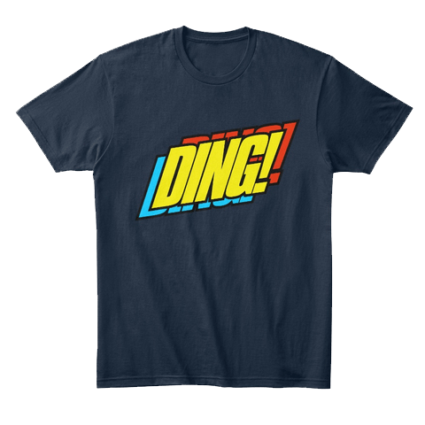 DING! merchandise by MentalMars