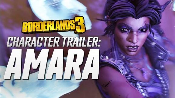 Amara Character Trailer - Borderlands 3