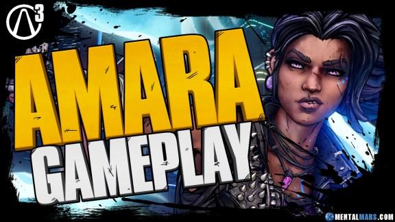Borderlands 3 Amara Gameplay