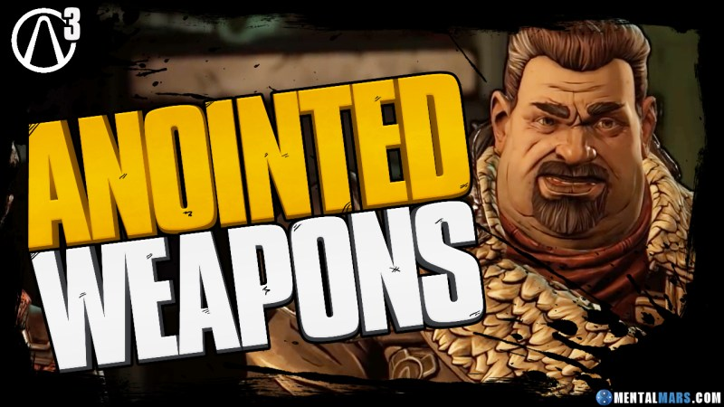 Anointed Weapons in Borderlands 3