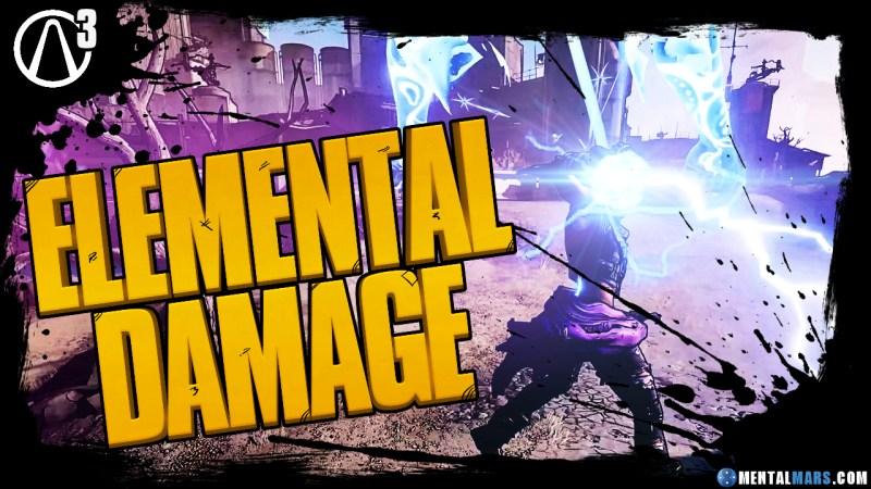 Borderlands 3 - Elemental Damage