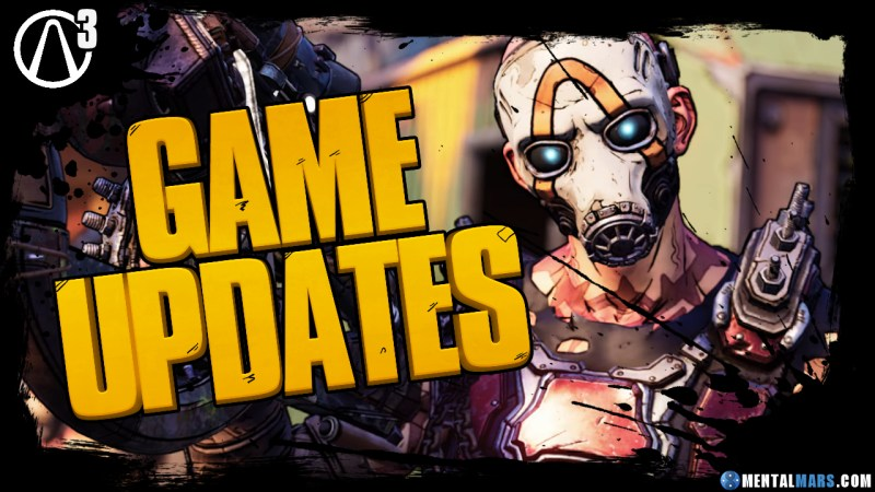 Borderlands 3 Hotfix and Patch Updates