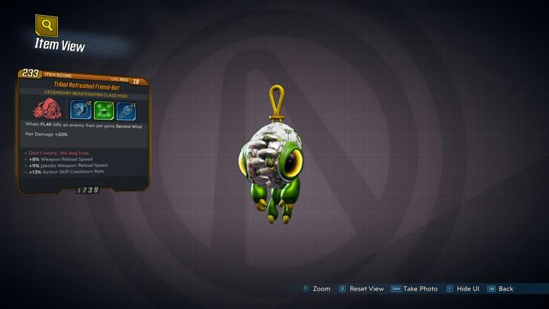Borderlands 3 Legendary FL4K Class Mod - Friend-Bot
