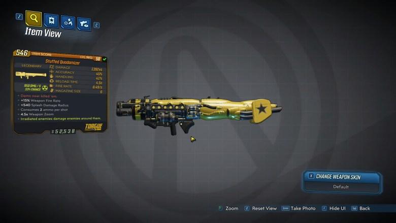 Borderlands 3 Legendary Torgue Rocket Launcher - Quadomizer