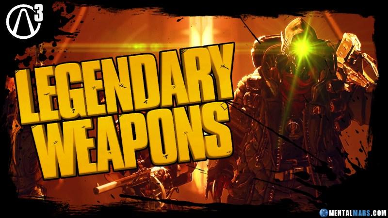 Borderlands 3 Legendary Weapon Guide