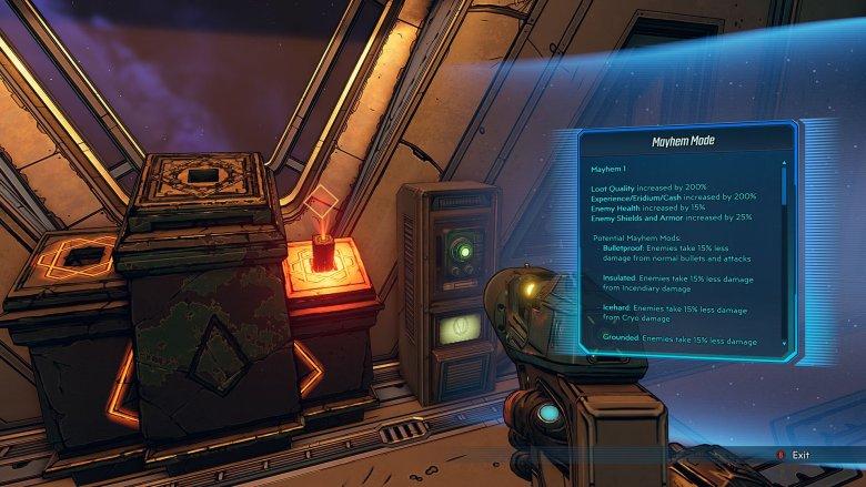 Borderlands 3 Mayhem Mode Terminal