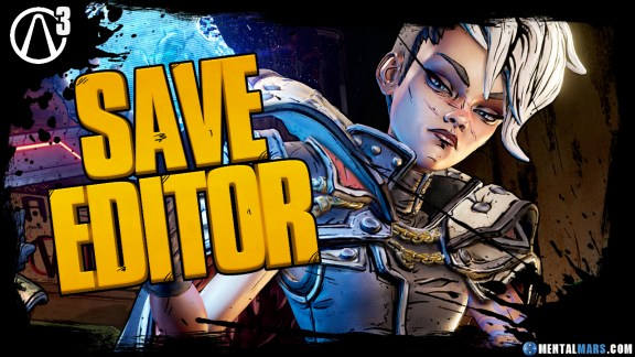 Borderlands 3 Save File Editor