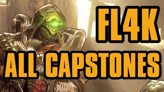 FL4K - All Capstone Skills - Borderlands 3