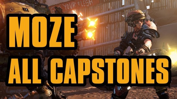 Moze - All Capstone Skills - Borderlands 3
