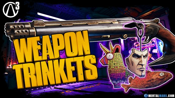 Weapon Trinkets - Borderlands 3