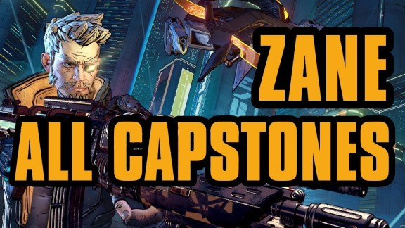 Zane - All Capstone Skills - Borderlands 3