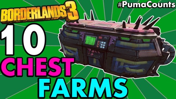 10 Best Chest Farm Locations - Borderlands 3