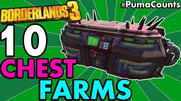 10 Best Chest Farm Locations - Borderlands 3