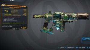Borderlands 3 Legendary COV Pistol - Pestilence