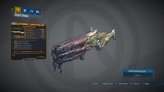Borderlands 3 Legendary Hyperion Shotgun - Fearmonger
