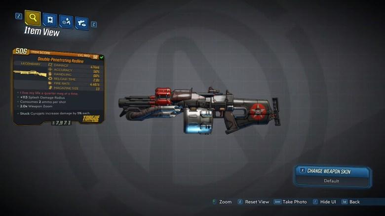 Borderlands 3 Legendary Tediore Shotgun - Redline