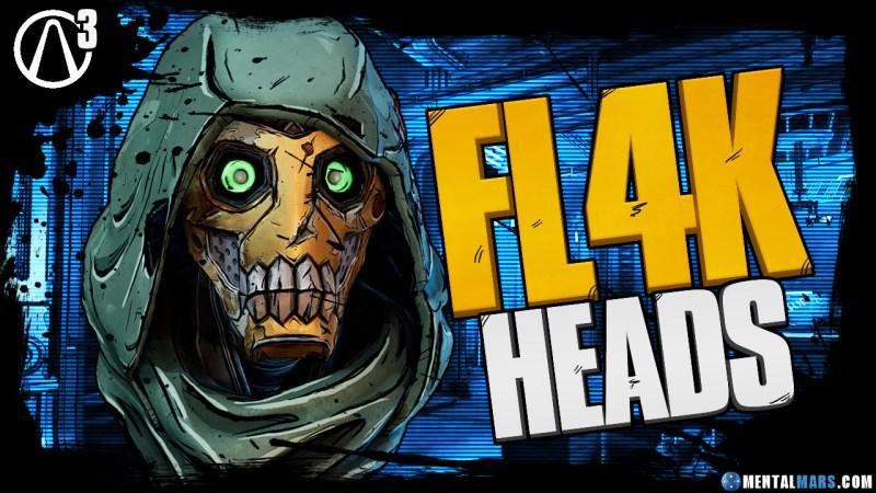 FL4K - Heads - Borderlands 3