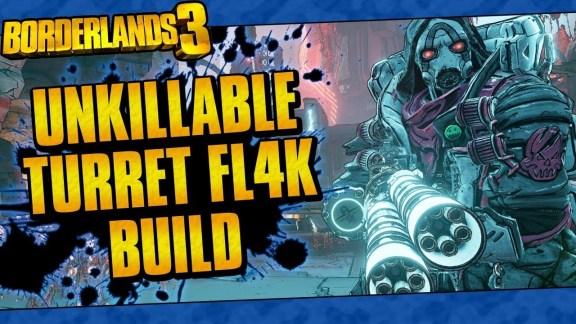 "FL4K ""Unkillable Turret"" Build - Borderlands 3"
