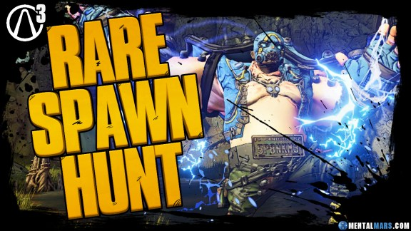 Rare Spawn Hunt - Borderlands 3